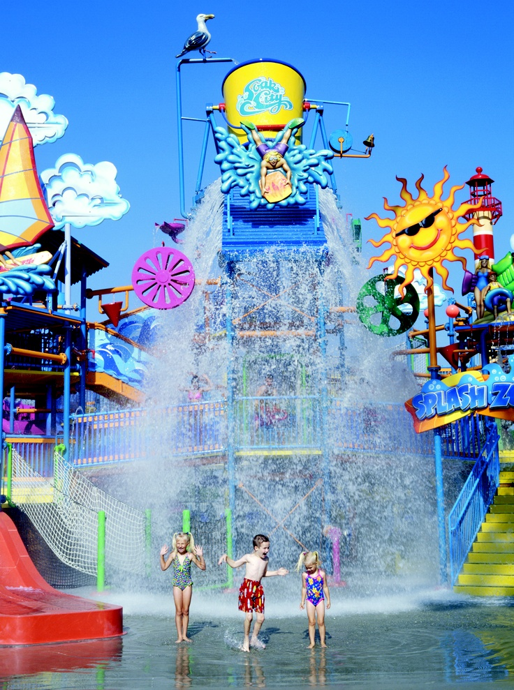 Soak City at Cedar Point - Sandusky, Ohio. #attraction