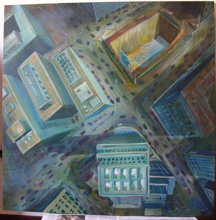 199. acrylic on canvas 100x100 Cm.
