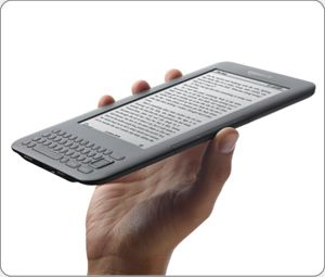 EBook Reader with Free 3G internet connection. And a keyboard for notes.  I got mine already.  I love it.