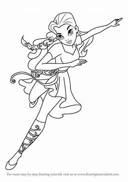 Image Result For Dc Super Girl Superhero Coloring Pages Elli S