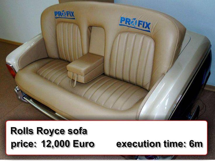 Rolls Royce sofa