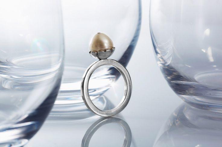 Big Pearl Stack Ring by CeebWassermann on Etsy https://www.etsy.com/au/listing/38819872/big-pearl-stack-ring
