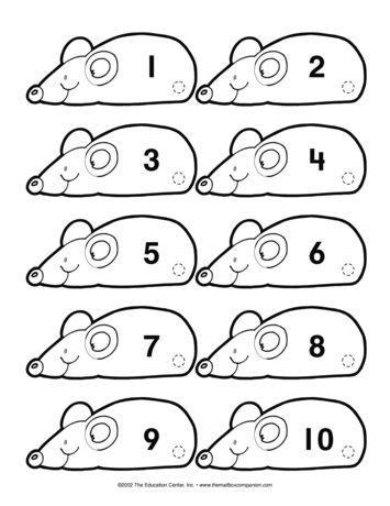 Mouse Math, Lesson Plans - The Mailbox