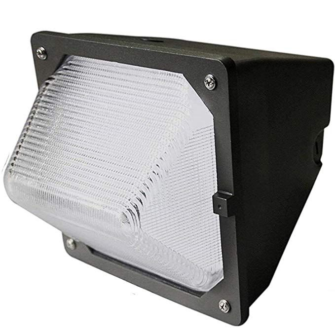 30w Led Wall Pack Led Wall Pack With Built In Photo Sensor Cell 200 Watt Hps Hid Replacement 5000k Daylight 3100 Lu Wall Packs 5000k Outdoor Light Fixtures