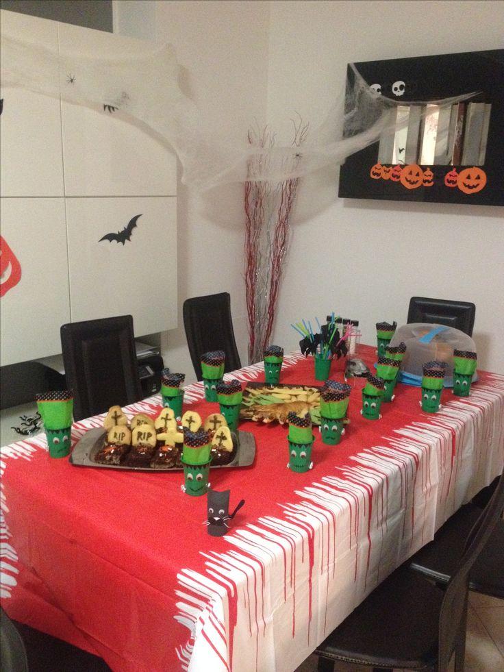 Festa in casa di halloween