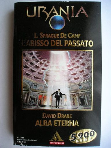"The novella ""To Bring the Light"" by David Drake was published for the first time in 1996. Cover art by Maurizio Manzieri for an Italian edition. Click to read a review of this novella!"