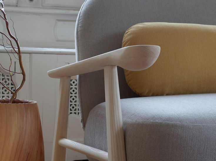 """""""A tactile experience"""", interior design inspiration by #SlowWood. The visible and tactile pleasure of the wood in its naturalness. Architect or interior designer? Access special prices reserved for professionals on design2taste.com #chair #woodchair #nordic #scandinavian #nordicdesign #scandinaviandesign #contemporary #modern #interiordesign #interiors #homedesign #living #livingroom #designchair #seats #homeinteriors #lightwood #wooden"""