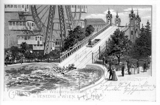 wasserrutschbahn, 1901