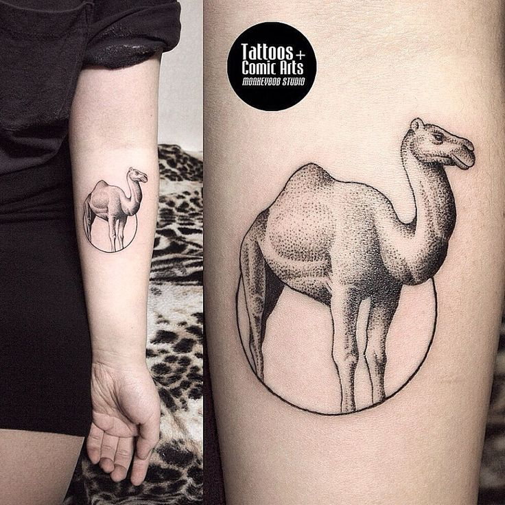 Monkey Bob tattoo Camel