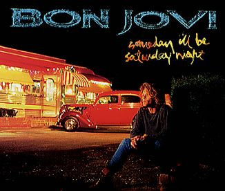 """For Sale - Bon Jovi Somebody I'll Be Saturday Night UK Promo  CD single (CD5 / 5"""") - See this and 250,000 other rare & vintage vinyl records, singles, LPs & CDs at http://eil.com"""