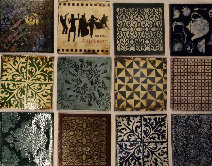 Pinterest - Gürber Keramik Manufaktur handgefertigte Plättli, Keramikplatten und Ofenkacheln