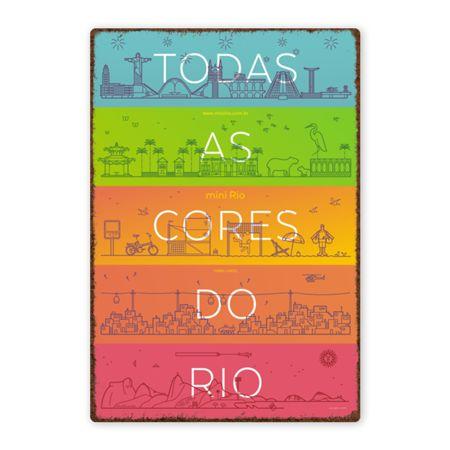 Poster todas as cores do Rio de @flopez | Colab55