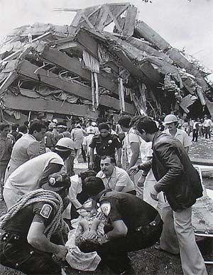 Terremoto del 19 de septiembre de 1985 Ciudad de México