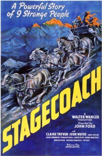 Stagecoach (1939) - John Wayne. Good.