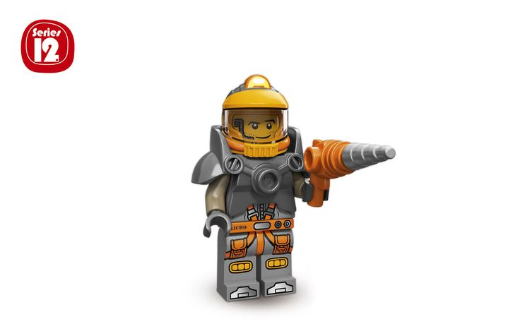 Lego Minifigures. Series 12. Series number: 71007. Character name: Space Miner. Character number: 6 of 16.