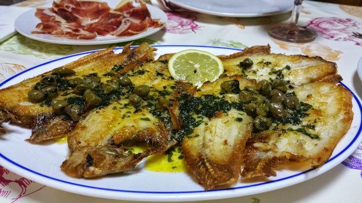 la cocina de Tina: LENGUADO MEUNIÊRE CON ALCAPARRAS