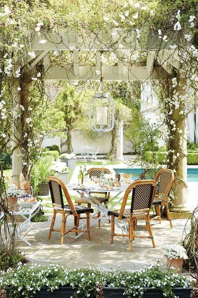 Growing with Plants: Alfresco Dining