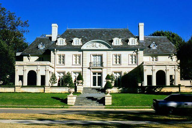 French Provincial Mansion I Love Highland Park Tx