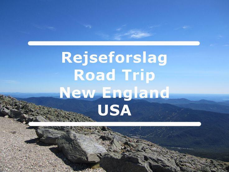 Rejseforslag Road Trip - New England viser dig storslået natur, Atlanterhavet, de øde skove i New England og masser af charmerende storbyer.