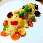 彩りフルーツの冷製カペリーニ