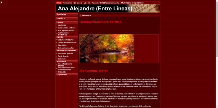 ENTRE LÍNEAS, Nº 1, OCTUBRE DE 2010