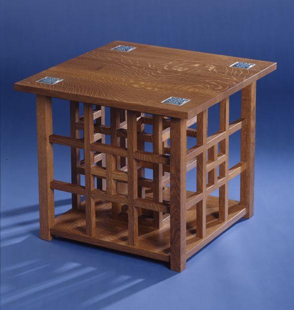 Charles Rennie Mackintosh - mesas laterais high-end, mesas de café e mesas finais