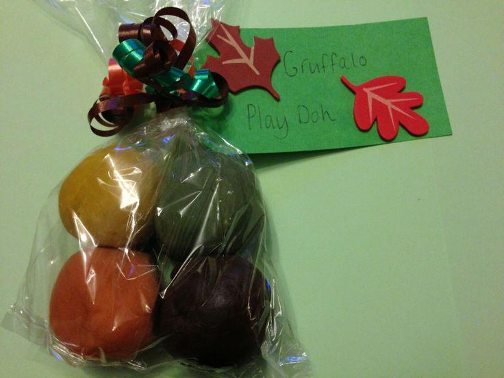 Gruffalo PlayDoh - Birthday Party Bag Favours