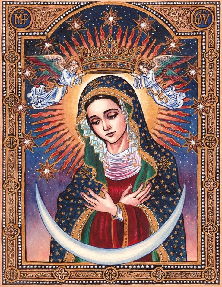 Our Lady of the Gate of Dawn (Mother of Mercy of Ostra Brama) by ~Theophilia on deviantART #Virgin_Mary