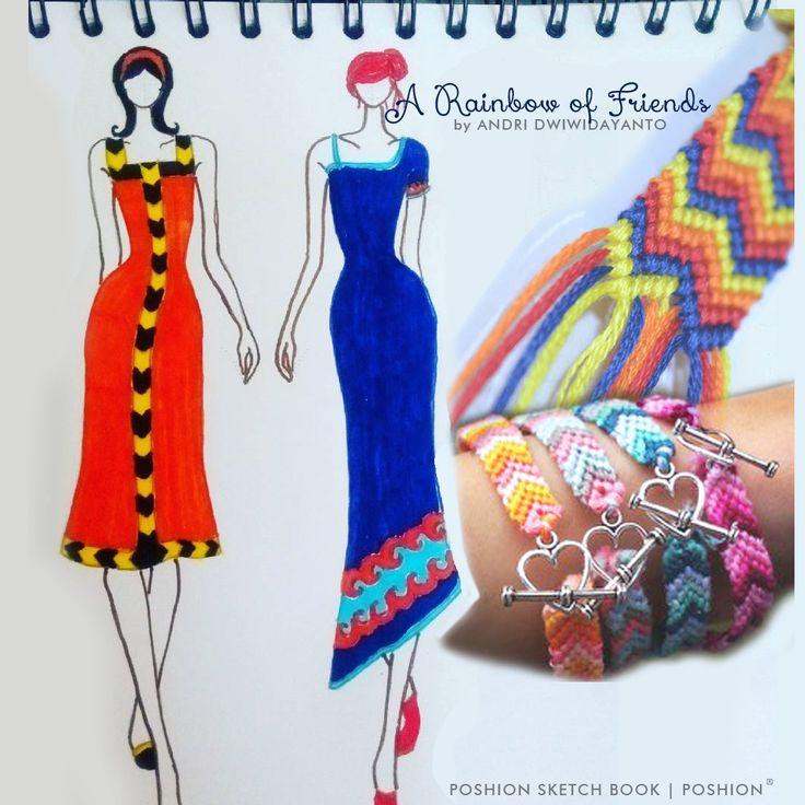Poshion Sketch Book | #fashionillustration #sketchbook #fashionsketch #fashiondesign #draw #croquis #learntodraw