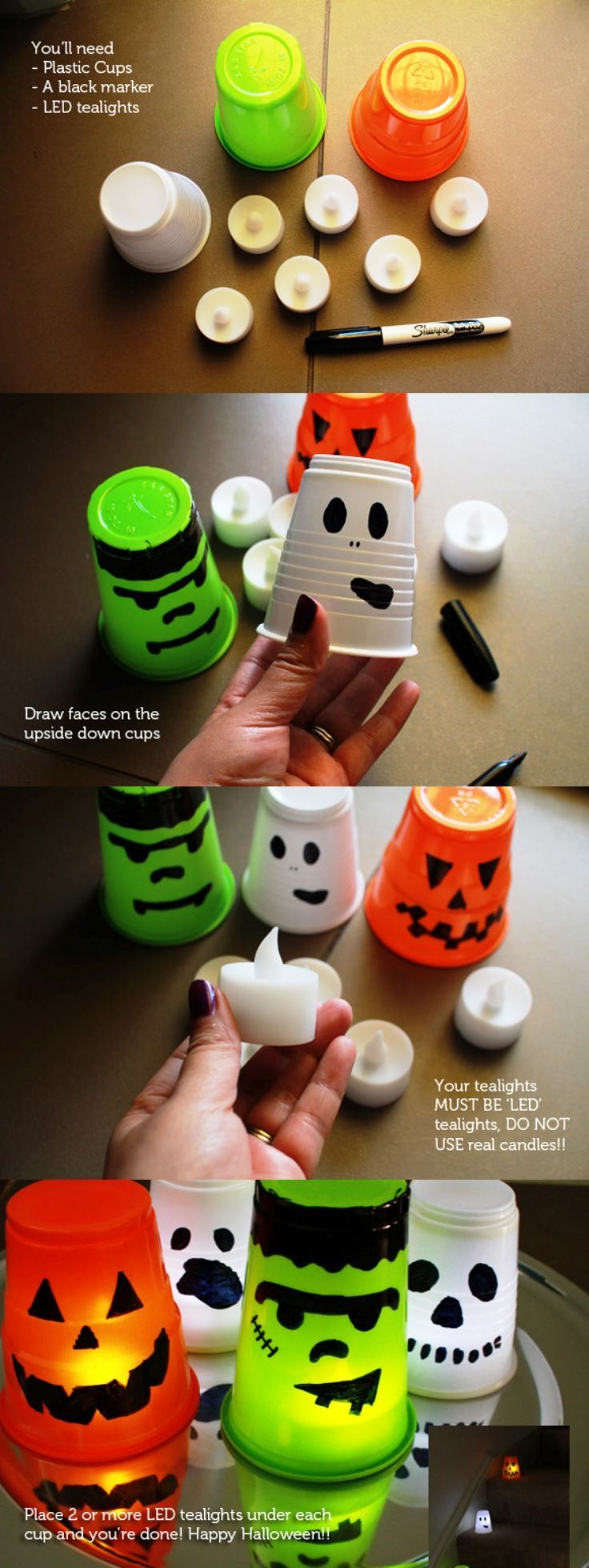 Top 10 Best DIY Halloween Projects...cute, easy ideas for young kids at Halloween.