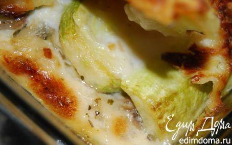 Рецепт – Лазанья с кабачками и грибами