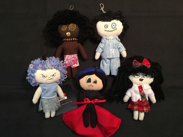 "Cute ""Horror"" Dolls – 5 Doll Set w/ Lobster Clasp: Dracula ; Morbie Doll + More in Dolls, Bears, Dolls, Other Dolls   eBay!"