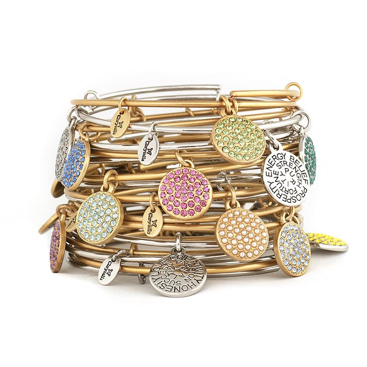bangle bangles rose diamond gold bracelets stackable img