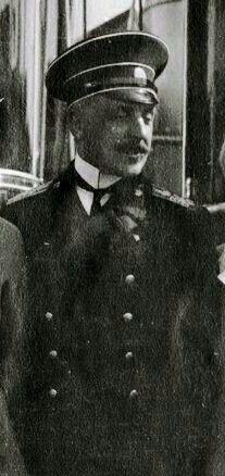"""Captain Nikolai Pavlovich Sablin. """"AL"""""""