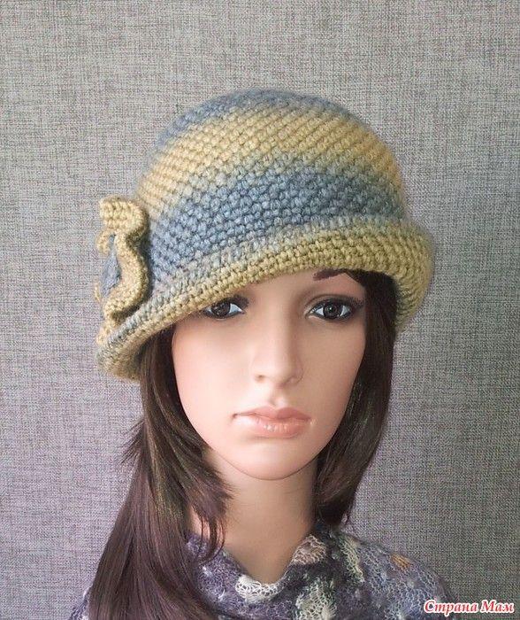 Вязаные зимние шляпы крючком фото схемы