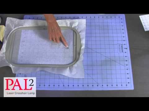 Perfect Alignment Laser 2 | PAL2 | Designs in Machine Embroidery