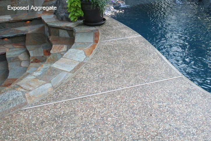 Exposed Aggregate For The Home Pinterest Exposed
