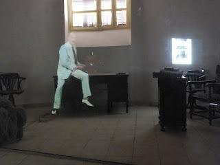 #Luxor - #Howard #Carter's house - #hologram of #Howard #Carter
