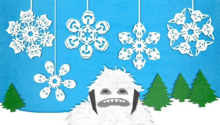 Tutorials for awesome snowflakes
