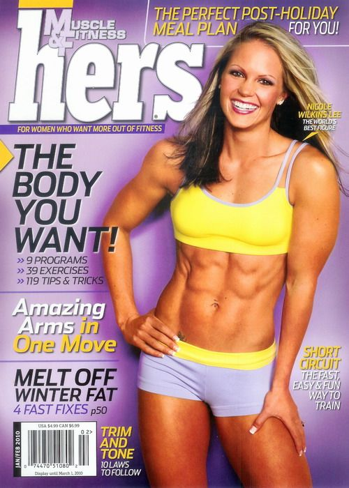 "One of my ""fitness"" idols...actually have her autograph on my DVD, ""In Pursuit of a Dream""!"
