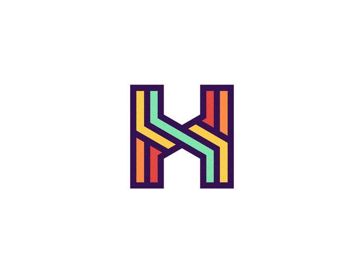 12 best h logo images on pinterest logo designing h