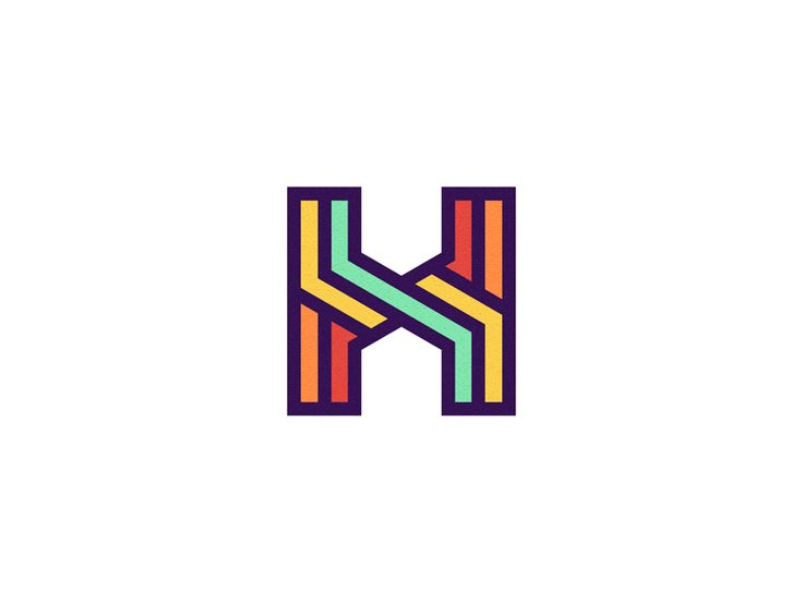 H Monogram from the archives.