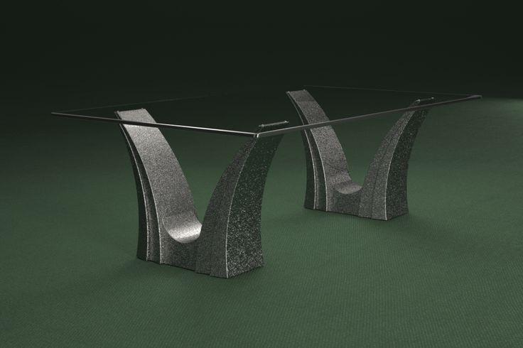 Articolo 3EA-12     Tavolino da salotto Apollo - Finitura: brunito.Misure: cm 110 x 65 - Altezza cm 37  - Peso: Kg.45 - Vetro: rettangolare -  temperato - extrawhite - filo lucido - spessore 1 cm