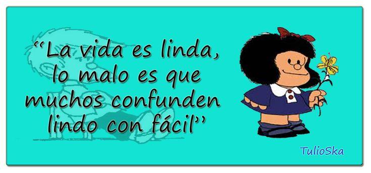 Como siempre grande Mafalda... Poco más que añadir