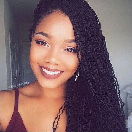 Long & Lovely Sisterlocks   - 30 Black Women With Seriously Stunning Sisterlocks
