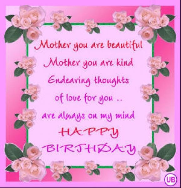 Best 25 Birthday cards for mom ideas – Happy Birthday Mom Card
