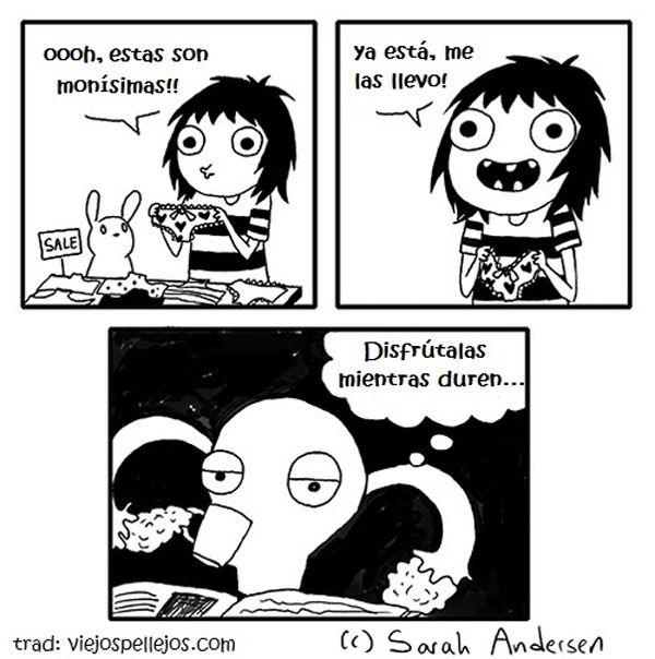 Sarah See Andersen ✤ SARAH'S SCRIBBLES || 搞笑漫畫 • #Risa #Comic #Memes…