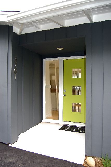 17 Best Images About Mid Century Modern Doors Entryways On Pinter