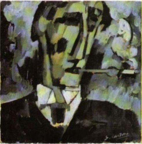 Amadeo de Souza-Cardoso (Portuguese: 1887 – 1918) | Grief. Head. Boquilha 1914