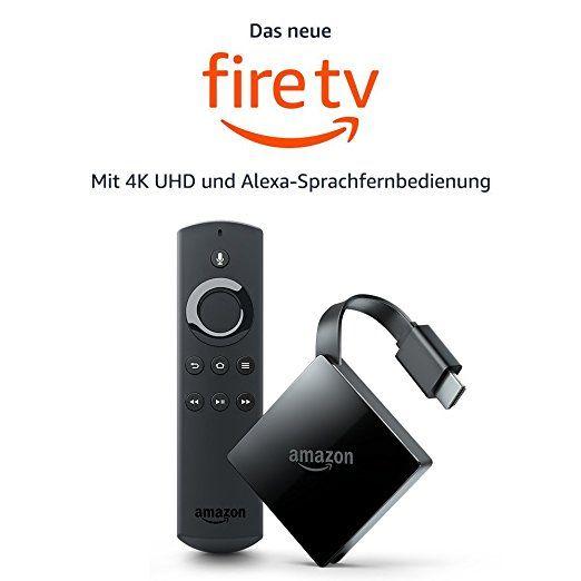 Awesome Das neue Fire TV mit K Ultra HD und Alexa Sprachfernbedienung